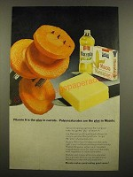 1968 Mazola Oil Ad - Vitamin A is the Plus in Carrots