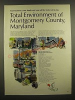 1967 Montgomery County, Maryland Ad - Total Environment