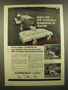 1967 Gravely Commercial-10 Tractor Ad