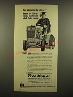 1967 International Harvester Cub Cadet Tractor Ad - Saving for College?