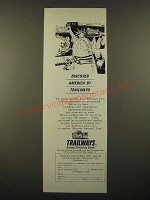 1967 Trailways Buses Ad - Discover America by Trailways