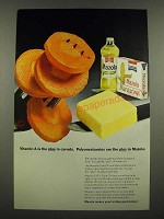 1967 Mazola Oil Ad - Vitamin A is the Plus in Carrots