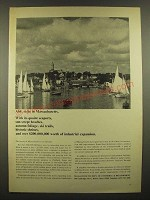 1966 Massachusetts Department of Commerce & Development Ad - Seaports