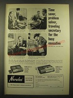 1966 Norelco 83 and 82 Dictating Machines Ad - Time Saver
