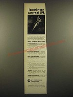 1966 JPL Jet Propulsion Laboratory Ad - Launch Your Career