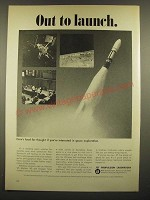 1966 JPL Jet Propulsion Laboratory Ad - Out to Launch