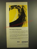 1966 Los Alamos Scientific Laboratory Ad - The Road to Discovery