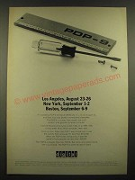 1966 Digital PDP-9 Computer Ad - Los Angeles
