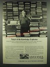 1966 GT&E Sylvania Electronic Systems for Education Ad - Knowledge Explosion