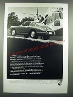 1966 Porsche Car Ad - Gran Turismo Buffs Seem To Wind Up Owning