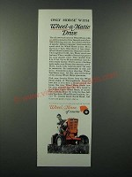 1966 Wheel Horse Garden Tractor Ad - Weel-a-Matic Drive