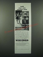 1966 Wisconsin Vacation and Travel Service Ad - Build Your Own Vacation State
