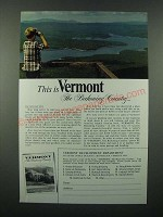 1966 Vermont Tourism Ad - The Beckoning Country