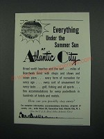 1966 Atlantic City, New Jersey Ad - Everything Under the Summer Sun