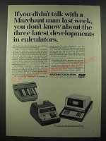1965 SCM Marchant Calculators Ad - Two-Step; Transmatic 416-S; Cogito 240-SR