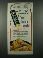 1965 Kraft Grated 100% Parmesan Cheese Ad - Pollo alla Parmigiana