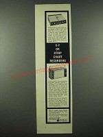 1965 Hewlett Packard Moseley X-Y and Strip Chart Recorders Ad