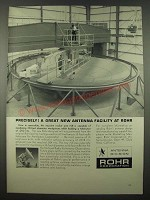 1965 Rohr Corporation Ad - A Great New Antenna Facility