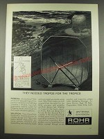 1965 Rohr Corporation Ad - Needed Tropos for the Tropics