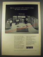1965 Digital PDP-6 Computer Ad - For Science and Industry