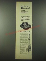 1965 Garrard Lab 80 Transcription Turntable Ad