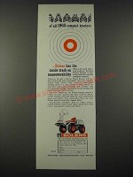 1965 Bolens Estate Keeper Lawn Tractor Ad - Track on Maneuverability