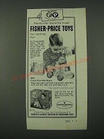 1965 Fisher-Price Milk Wagon Toy Ad - Particular Parents Trust