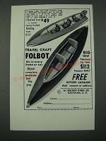 1965 Travel Craft Folbot Ad
