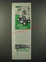 1964 Bolens Husky Compact Tractor Ad - Party Crasher