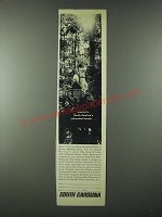1963 South Carolina Tourism Ad - Untouched Forests