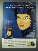 1963 Cover Girl Medicated Make-up by Noxzema Ad - Barbara Clement