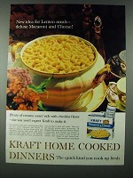 1963 Kraft Macaroni & Cheese Ad - New Idea For Lenten Meals