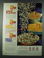 1963 River Rice and Carolina Rice Ad - Save Flavor