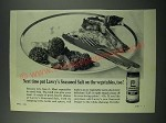 1963 Lawry's Seasoned Salt Ad - Put on the Vegetables, Too!
