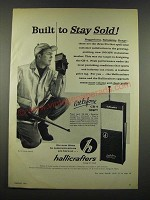 1962 Hallicrafters Littlefone CB-4 Radio Ad - Built to Stay Sold