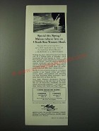 1960 Matson Cruise Ad - Special This Spring