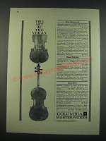 1960 Columbia Masterworks Ad - The Art of the Violin
