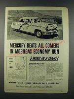 1952 Mercury Montery Special Custom Sedan Ad - Beats All Comers