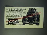 1952 Snap-On Tools Ad - Metric & Whitworth Wrenches
