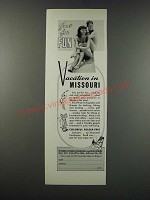 1949 Missouri Tourism Ad - Just for Fun