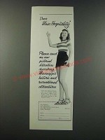 1949 Mississippi Tourism Ad - Dear Miss Hospitality