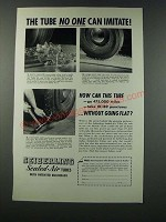 1949 Seiberling Sealed-Air Tubes Ad - No One Can Imitate