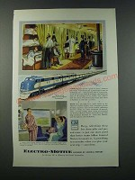 1949 GM General Motors Electro-Motive Locomotive Ad - Missouri Pacific Train