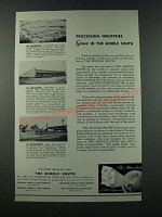 1949 The Middle South Ad - Processing Industries Grow