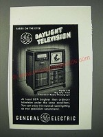 1949 General Electric Model 818 Television-Radio-Phonograph Ad