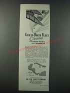 1948 United Fruit Company Great White Fleet Cruises Ad - West Indies