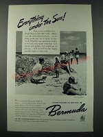 1948 Bermuda Tourism Ad - Everything under the Sun
