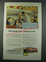 1948 GM General Motors Diesel Locomotive Ad - Southern Pacific Golden State