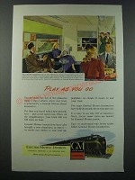 1948 GM General Motors Diesel Locomotive Ad - Pennsylvania Railroad
