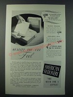 1948 American Stationery Ad - Quality You Can Feel